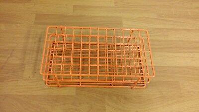 Wire Test Tube Rack Epoxy Coated 72 Place 16 mm
