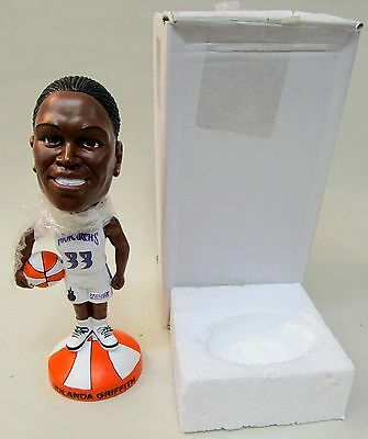 2002 YOLANDA GRIFFITH Sac. Monarchs WNBA Basketball nodder bobblehead bobber MIB