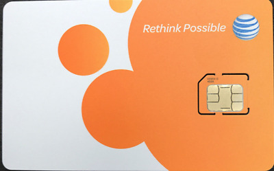 AT&T Unlimited Data NO THROTTLING 4G LTE ATT $65.99 MONTH - Sim Card only