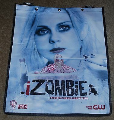 Sdcc 2014 Exclusive Wb I Zombie Backpack Bag Brand New