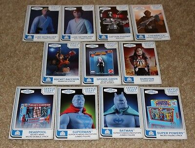 Sdcc 2016 Exclusive Gentle Giant Promo Card Lot Of 11