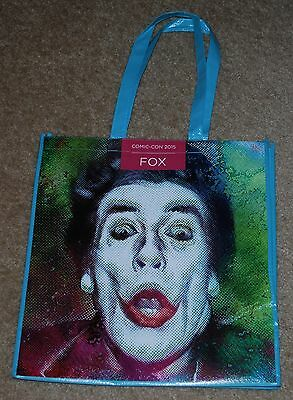 Sdcc 2015 Exclusive Fox The Joker Dual Sided Bag Brand New