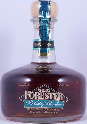 Old Forester Spring 1993 13 Years 2006 Birthday Bourbon Whiskey 48,0% Vol. RARE
