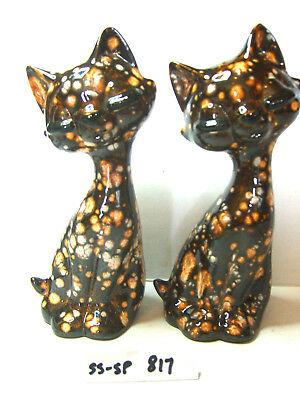 p mitchell cats  salt and pepper shakers
