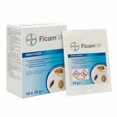 Ficam W Bedbug flea cockroach insect insecticide poison pest control