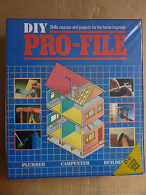 Diy Manual -  Loads Of Information  - Loose Leaf Pages - Very Good Condition