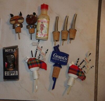 sprirt pourers and stoppers
