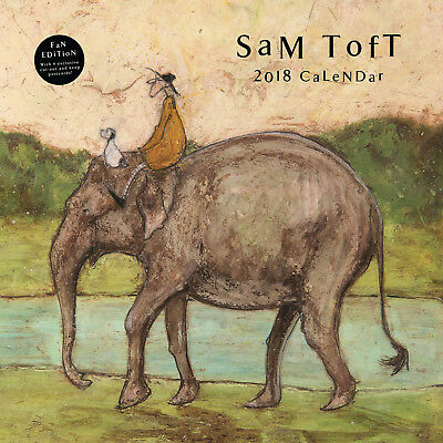 SAM TOFT CALENDARIO 2018 Square NUOVO
