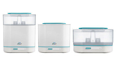 Philips AVENT 3-in-1 Electric Steam Steriliser BBA FREE