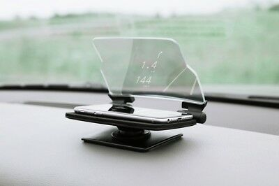Car GPS HUD Head Up Navigation Display Smart Phone Holder Stand Projector