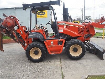 2007 DITCH WITCH RT115 4x4x4 Trencher/Cable Plow, 870 hours great condition