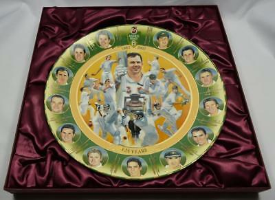 """Collectors Plate Large - """"Battle for the Ashes"""" 125 Years On"""
