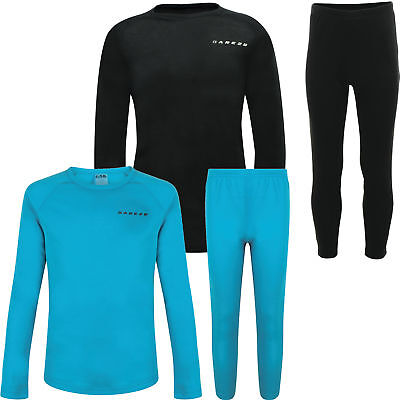 Dare2b Simmer Down Kids Base Layer Set Thermals Top Bottoms Girls Boys