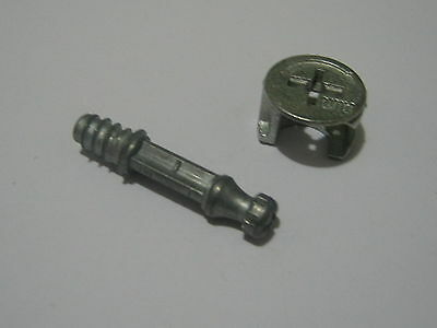 5 set /30mm Lock Cam Dowel Bolts & Fixing Cam Lock Screws Furnit./Cabinet (b4)