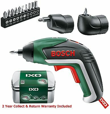 FULL SET Bosch IXO 5 Lithium ION Cordless Screwdriver 06039A8072 3165140800051#v
