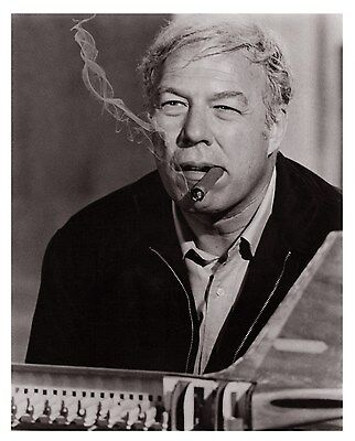 George Kennedy - Hand Signed Card & Coa