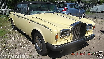 Rolls Royce Silver Shadow Ii - Breaking For Spares
