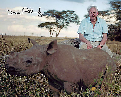 Sir David Attenborough - Signed Autograph REPRINT