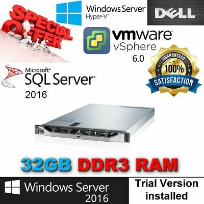 DELL POWEREDGE R420 2x E5-2450L 1 80Ghz 8CORE 64GB DDR3 4x