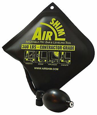 Calculated Industries #1190 Air Shim Inflatable Pry Bar and Leveling Tool; 300