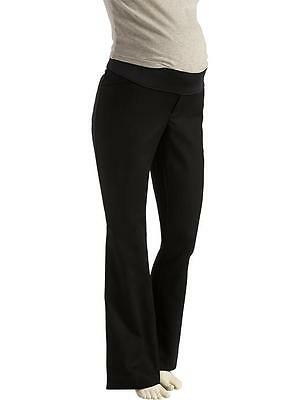 Women Old Navy Maternity Black Demi dress pants career Size 12 NWT Free Shipping