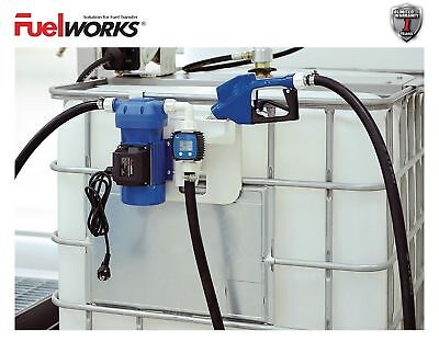 FUELWORKS 120 Volts / 8 GPM Electric DEF Transfer Pump Kit for Diesel Exhaust...