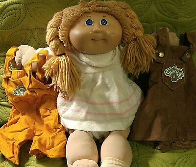 Vintage cabbage patch doll