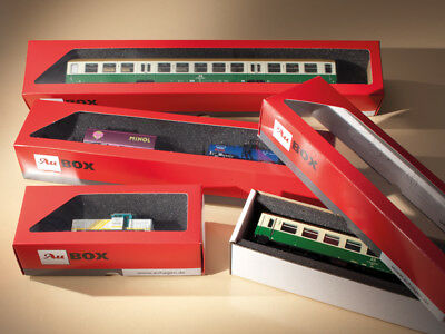 Auhagen kit 99302 NEW 10 STORAGE BOXES FOR LOCOMOTIVES AND COACHES  230X60X50MM