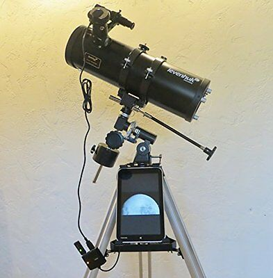 4.5 Inch Reflector Astrophotography Bundle-120x1000 Telescope and Camera