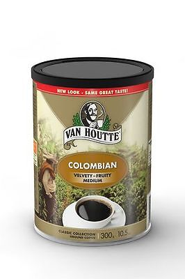 Van Houtte Montreal Quebec 100% Colombian Medium Roast Ground Coffee