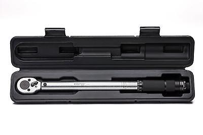 "3/8"" Inch Drive Capri Tools 31000 10 80 Foot Pound Torque Wrench Tool Snap FT LB"