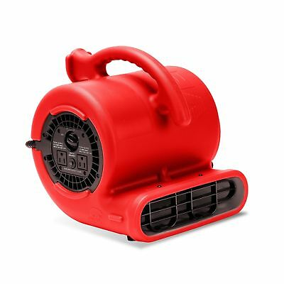 B-Air VENT VP-25 1/4 HP 900 CFM Compact Air Mover Carpet Dryer Floor Fan for ...