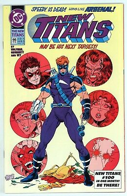 New Titans (1984) #99 NM First Appearance of Arsenal