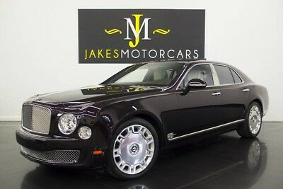 2014 Bentley Mulsanne ($364,445 MSRP)...$200,000 OFF NEW! 2014 BENTLEY MULSANNE, $364,445 MSRP! BLACK VELVET ON LINEN, 13K MILES, PRISTINE