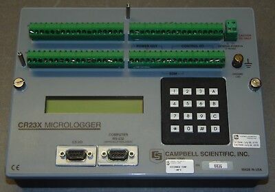 Campbell Scientific CR23X Compact Micrologger Extended Temp