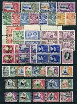 Basutoland 1935 - 1961 Mix of MM Stamps.