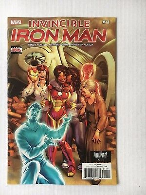 Marvel Comics: Invincible Iron Man #11 (2017) - BN Bagged and Boarded