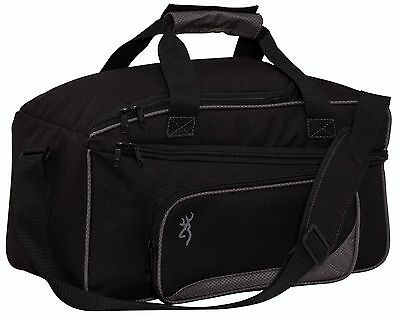 Browning Flash Shooting Range Bag 121062691 Black/Gray Water Resistant