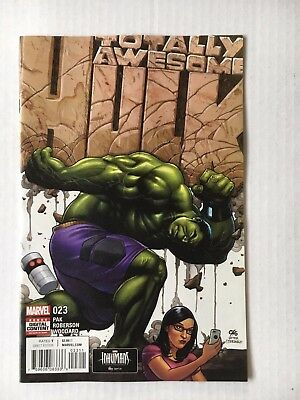 Marvel Comics: Totally Awesome Hulk #23 (2017) - BN Bagged and Boarded