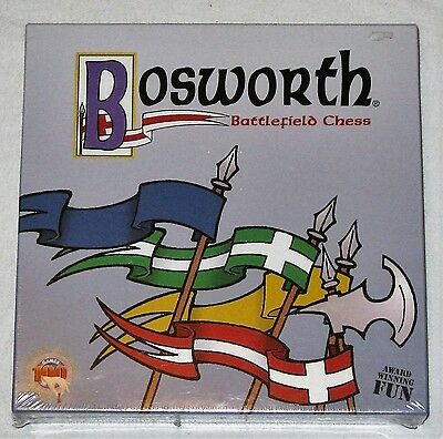 Bosworth Battlefield Chess Game - Brand New Sealed