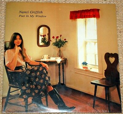 Nanci Griffith - Poet In My Window - Sealed Featherbed LP
