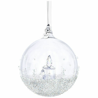 Swarovski Crystal 2017 ANNUAL EDITION CHRISTMAS BALL ORNAMENT 5241591
