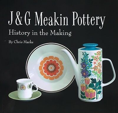 J & G Meakin Pottery Reference Book1950S 1960S 1970S Vintage Retro Jessie Tait