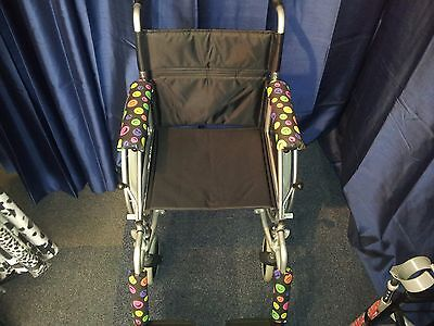 Beautifully Hand Made Wheelchair Arm & Leg Pad Sets(Express Your Style)  Wow