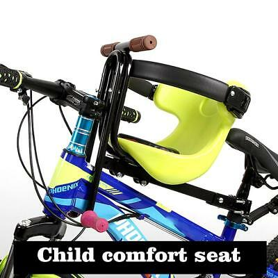 Bicycle Kids Child Front Mount Baby Seat Bike Carrier With Handrail Outdoor Rid