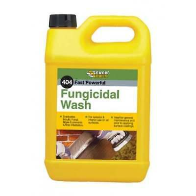 Everbuild 404 Moss And Mould Remover Fungicidal Wash 5 Litre Removes Algae