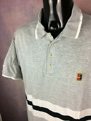 NIKE POLO JERSEY Maillot Supreme Court True Vintage 90s Made