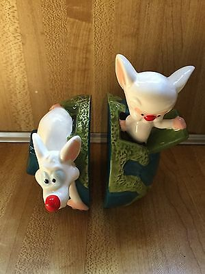 WB Animaniacs 1998 Pinky & the Brain S&P Set Studio Store Exclusive MIOB