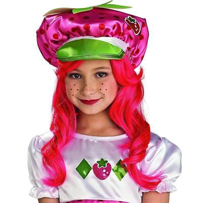NEW Strawberry Shortcake Costume Hat Officially Licensed Accessory Rubie's 49759