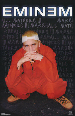 Lot Of 2 Posters:  Eminem  - Blackboard          Free Shipping !   #6545   Lc1 D